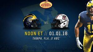 UM vs South Carolina Outback Bowl