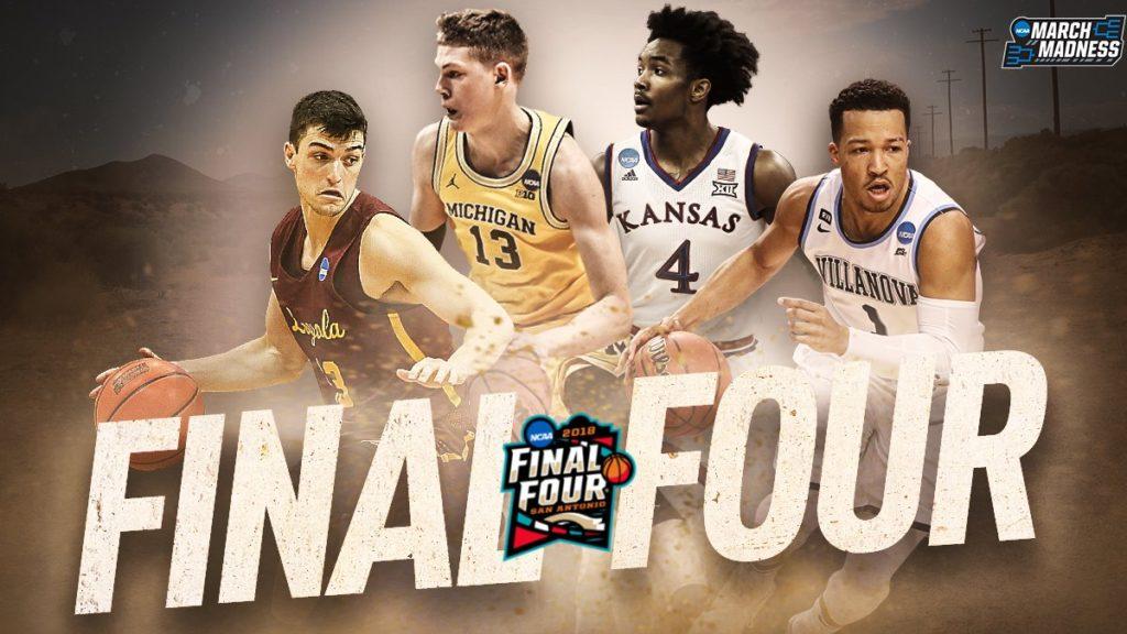 Final 4 Teams in San Antonio TX