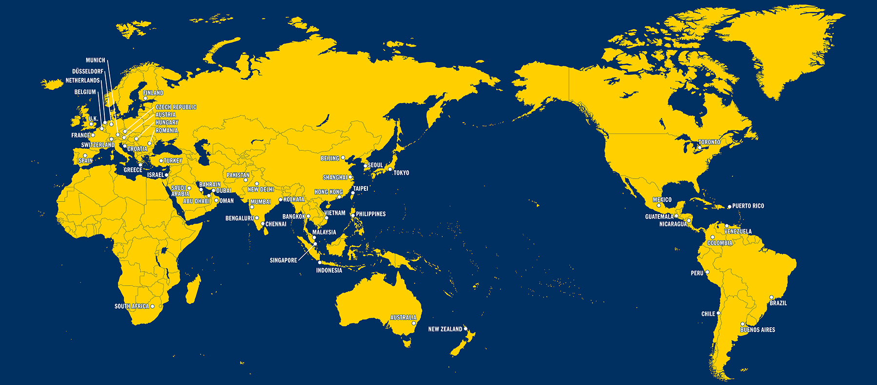 University of Michigan Clubs around the world