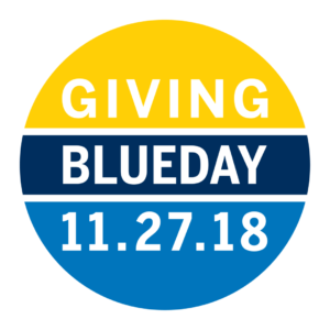 Giving Blue Day Globe