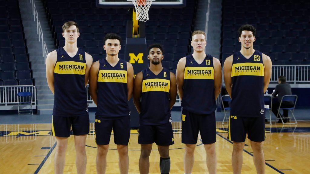 2019 Michigan Basketball Team